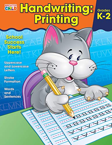 Handwriting: Printing Brighter Child: Grades K2
