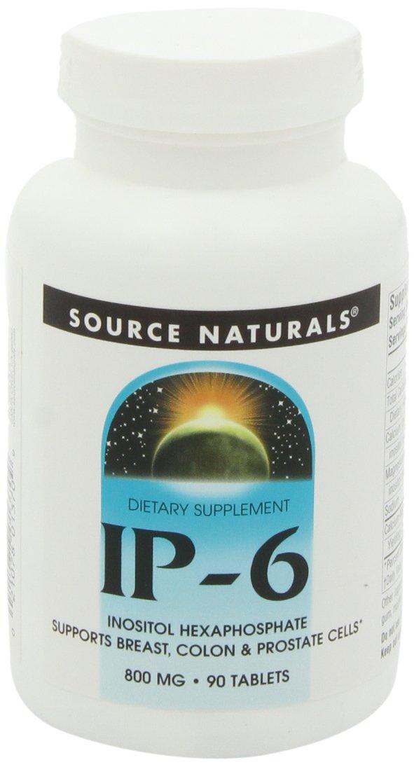 SOURCE NATURALS Ip-6 Tablet, 90 Count