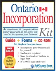Incorporation Kit for Ontario