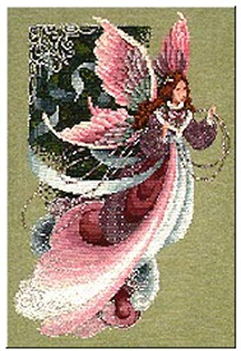 Lavender & Lace Counted Cross Stitch Chart Pattern ~ Fairy Dreams ()