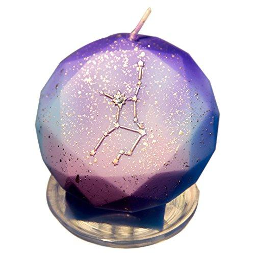 Charming Birthday Zodiac Candles Cake Candles for Birthday Festive Party Anniversary (Virgo) ()