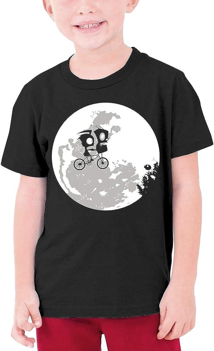 QIMING SHIPPING DIB and The ET Teenage T-Shirt,Boys T-Shirts,Girls T-Shirts Black