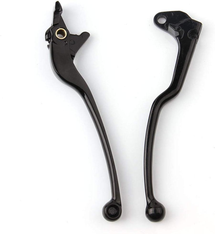 WYShop Leva della frizione del freno in lega di alluminio per moto Suzuki GSX-R 600750 1000 TLR1000S SFV650 0 cromo