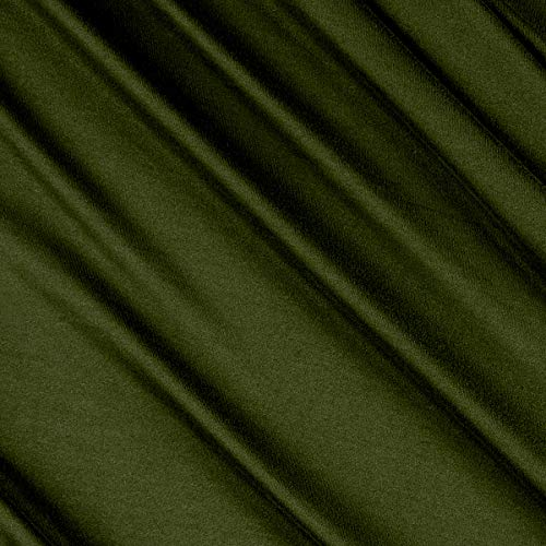 Fabric Merchants Double Brushed Solid Jersey Knit Olive