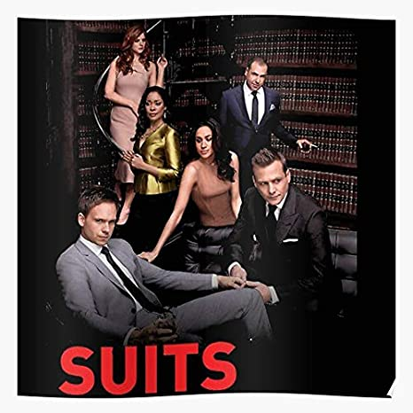 Amazon Com Vqnthinh Harvey Specter Popular Series Mike Ross Drama Suits Tv Series Tv Shows I S Poster For Home Decor Wall Art Print Poster Posters Prints