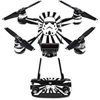 Skin for DJI Spark Mini Drone Combo - Star Rays| MightySkins Protective, Durable, and Unique Vinyl Decal wrap cover | Easy To Apply, Remove, and Change Styles | Made in the USA