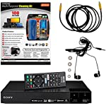 Sony BDP-S6700 4K Upscaling 3D Streaming Blu-ray Disc Player With Built In Wifi - 5 Pack Kit - Remote Control - 3 Pc Cleaning Kit - 10 FT High speed HDMI Cable - Xtreme Ear Buds (1 Year Warranty)