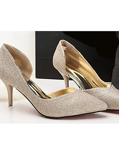 Or Talons noir chaussures Argent Synthétique Cn35 laine Chaussures Aiguille À Ggx Golden Femme 5 décontracté us5 talon Eu36 Uk3 5 talons xSBqXwPFwz