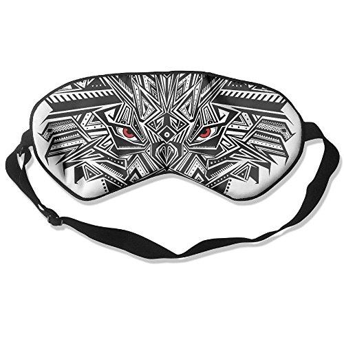 WUGOU Sleep Eye Mask Fere Selvaggie Lightweight Soft Blindfold Adjustable Head Strap Eyeshade Travel Eyepatch