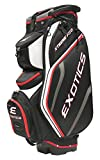 Cheap Tour Edge Exotics Extreme Pro Deluxe Cart Bag (Men's, Exotics Extreme Pro Deluxe Cart Bag Black/White/Red) ()