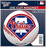 Philadelphia Phillies Official MLB 4.5 inch x 6 inch Car Magnet