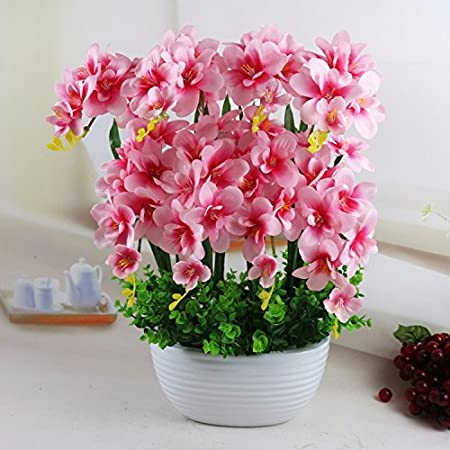 JFWMZyq Phalaenopsis Artificial Flowers Living Room Decoration ...