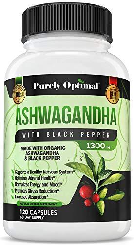 Premium Ashwagandha Supplement Enhancer Capsules product image