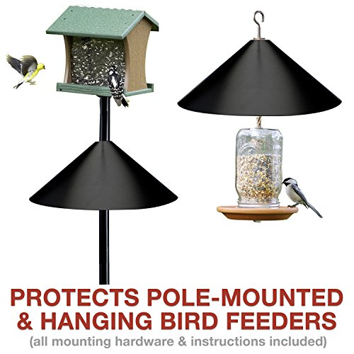 Squirrel-Baffle-for-Hanging-Bird-Feeders-Poles-Raccoon-Squirrel-Proof-Your-Bird-Feeders-Bird-Houses-17-inch