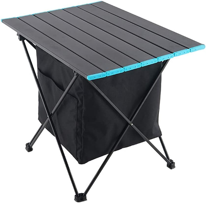 ETE ETMATE Portable Folding Picnic Table Garden Table Outdoor Camping Table with Storage Bag for Outdoor Camping Picnic Barbecue Beach Fishing
