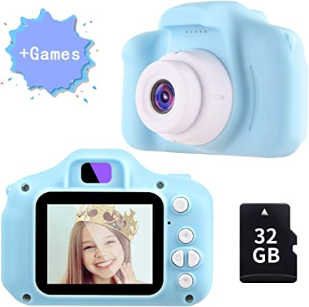 🎁【12MP + 1080P】 La mini cámara y videocámara tiene una pantalla de 2 pulgadas, en combinación con u