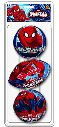 Hedstrom Spiderman HD Foam Ball Set (3-Pack)
