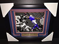 ODELL BECKHAM JR FRAMED 8x10 PHOTO NEW YORK GIANTS THE GREATEST CATCH EVER
