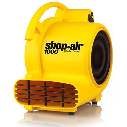 Shop-Air a Shop-Vac Company 1030400 1000 CFM Air Mover, Yellow