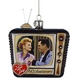 """Kurt Adler """"I Love Lucy"""" Glass TV Ornament"""