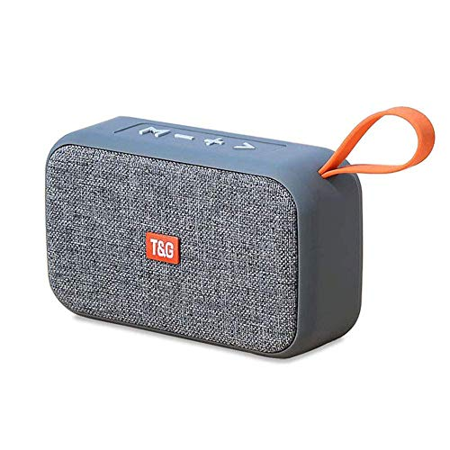 Radio Input Aux (ERQU Portable Wireless Bluetooth Speakers - Mini Best Multi-Function Indoor Outdoor Stereo Bluetooth Speakers, Built-in Microphone, FM Radio, Handsfree Call AUX Input for iPhone Ipad Android Phone)
