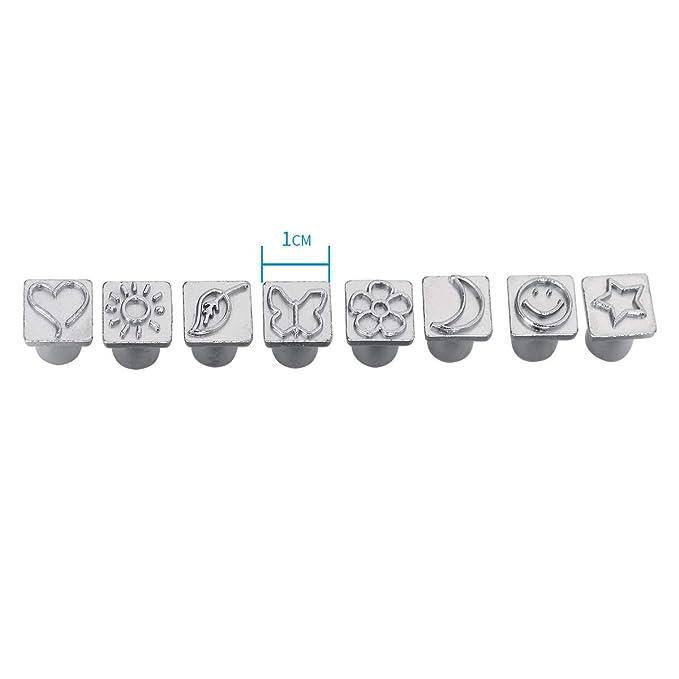 Amazon.com: Co-link - Juego de 36 sellos de letras y números ...