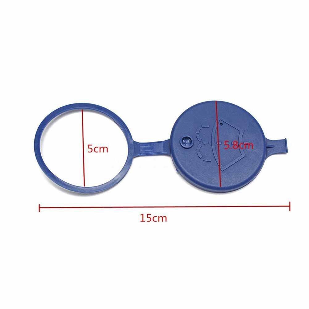 RUNGAO Bleu Pare-Brise Rondelle 2/Pcs Fluide Bouteille Bouchon de R/éservoir 643230