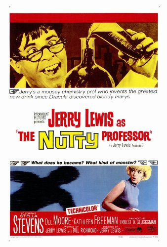 The Nutty Professor Poster 27x40 Jerry Lewis Stella Stevens Del Moore (Jerry Lewis Pictures compare prices)