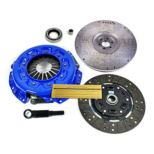 EF STAGE 2 SPORT CLUTCH KIT+FLWHEEL for 98-99 NISSAN FRONTIER 96-97 PICKUP 2.4L ()