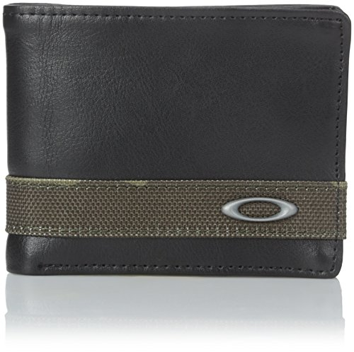Oakley Men's Dry Goods Wallet, Olive/Camo, One Size