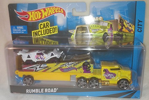 Review Hot Wheels Rumble Road