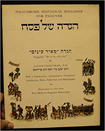 Polychrome Historical Haggadah For Passover (French Edition)
