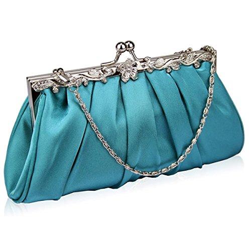 Xardi London, Poschette giorno donna medium Turquoise
