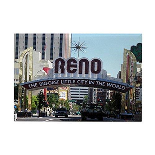 CafePress - Reno Biggest Little City - Rectangle Magnet, 2