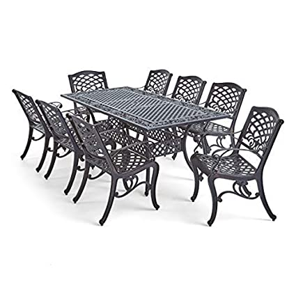 Amazoncom Great Deal Furniture Jody Patio Dining Set With
