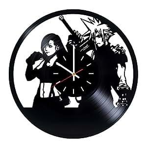 Amazon Com Final Fantasy Xv Vinyl Record Wall Clock
