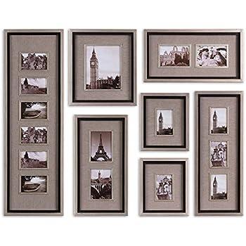 extra large horchow massena multi photo frame collection collage frames. Black Bedroom Furniture Sets. Home Design Ideas