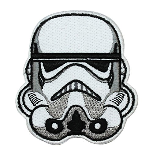 Disney Star Wars Stormtrooper Helmet Patch Officially Licensed Iron On Applique