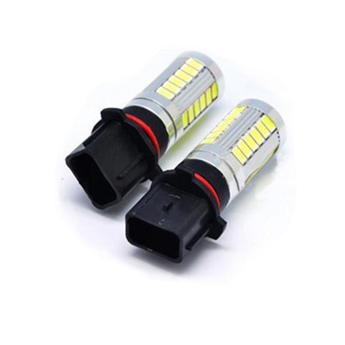Bombillas LED P13W Xenon Luz de alta potencia diurna DRL COB coche A4 B8 2x RGAta