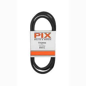 Amazon.com: GX20006 - Correa de transmisión para cortacésped ...