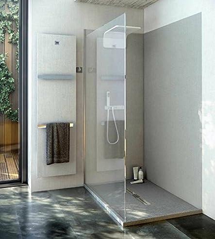Duschrückwand OHNE FUGEN 240x80 Cm Aus 7 Mm Mineralguss, Duschrückwände,  Badezimmer Fliesen, Fliesen