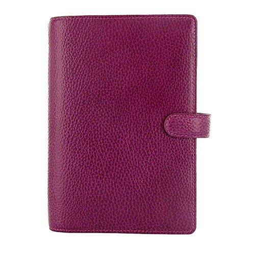Filofax Leather Personal Organizer, Finsbury Raspberry