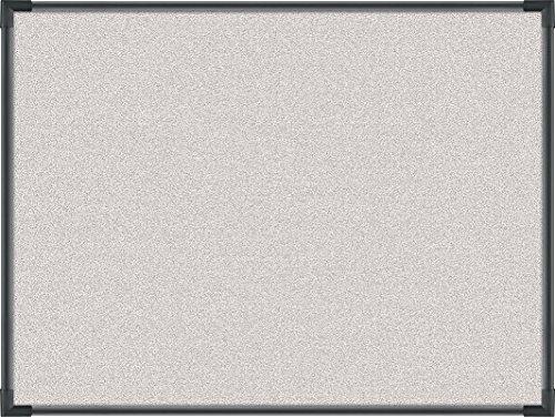 Best-Rite Pebbles Vinyl Tackboard, Ultra Trim, Black, 3 x 4 Feet, Light Quarry Vinyl (3118C-67) by Balt