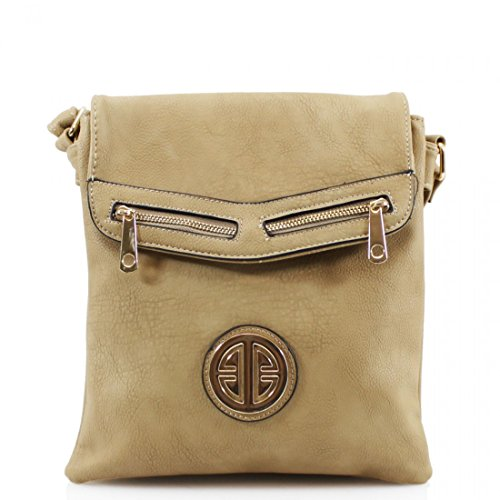 Yourdezire - Shoulder Bag Beige Plastic For Woman