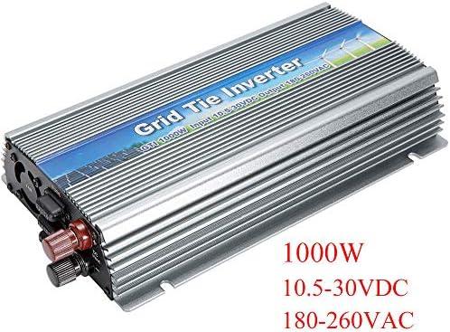 10.5-30VDC, 1000W Reine Sinuswelle Solar Grid Tie micro inverter 180-260VAC, für Vmp18V Panels solar home system,OutputVoltage220~240V