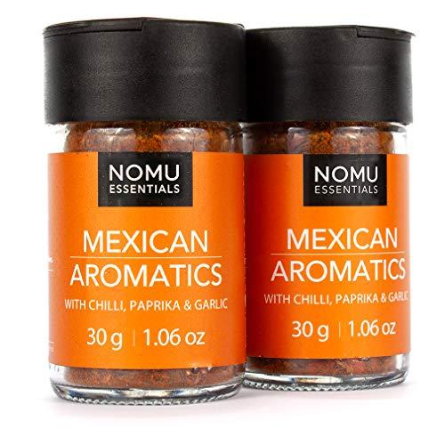 NOMU Essentials Mexican Spice Blend ( 2.12 oz | 2-pack) | MSG & Gluten Free, Non-GMO, Non-Irradiated