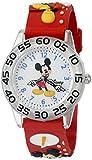 Disney Infinity Kids' W002459 Mickey Mouse Analog Display Analog Quartz Red Watch