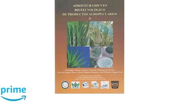 Aprovechamiento biotecnologico de productos agropecuarios II ...