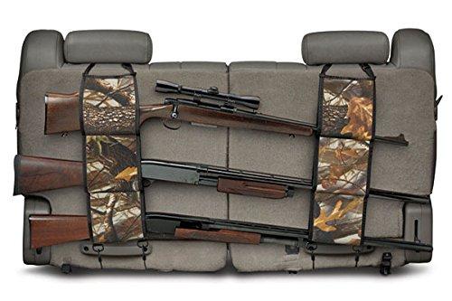 Acid Tactical Car / Truck Seat Back Shotgun Rifle Carrier Holder 3 Gun Mount (REAL MAPLE LEAF) (Shotgun Truck Rack)