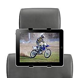 SCOSCHE Rear Seat Headrest Mount for All iPads & Tablets HRMT, Black